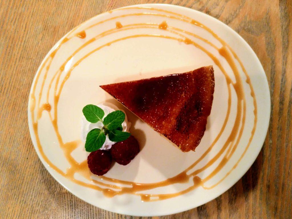 ぽたかふぇ 焦がし砂糖のチーズケーキ (8)