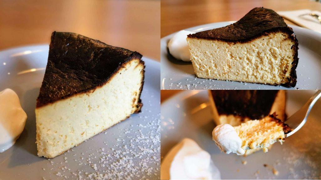 ナッティーズカフ バスクチーズケーキ