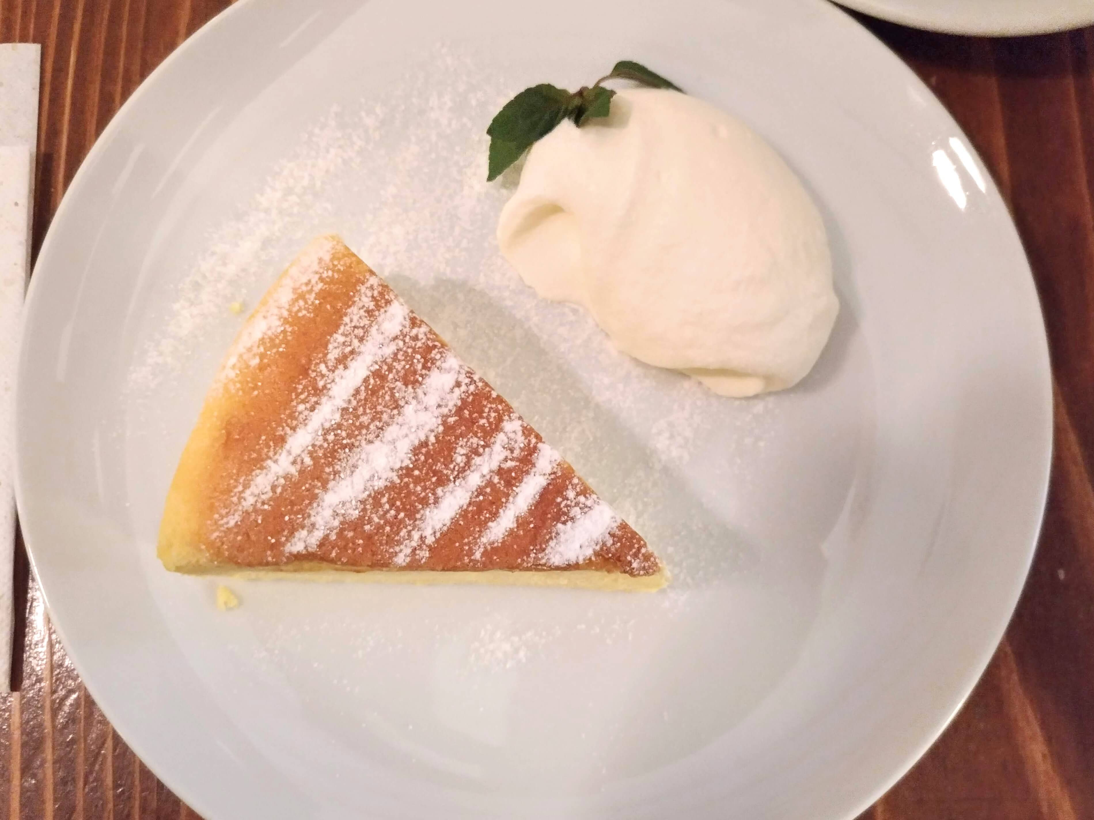 珈琲三十間 銀座 チーズケーキ (6)
