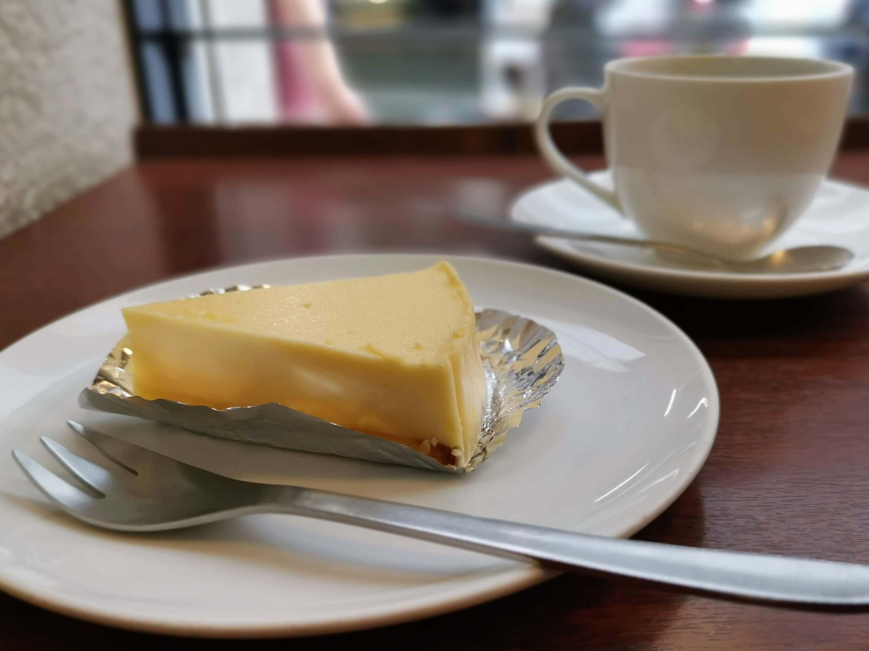 上島珈琲店 湯蒸チーズケーキ (8)