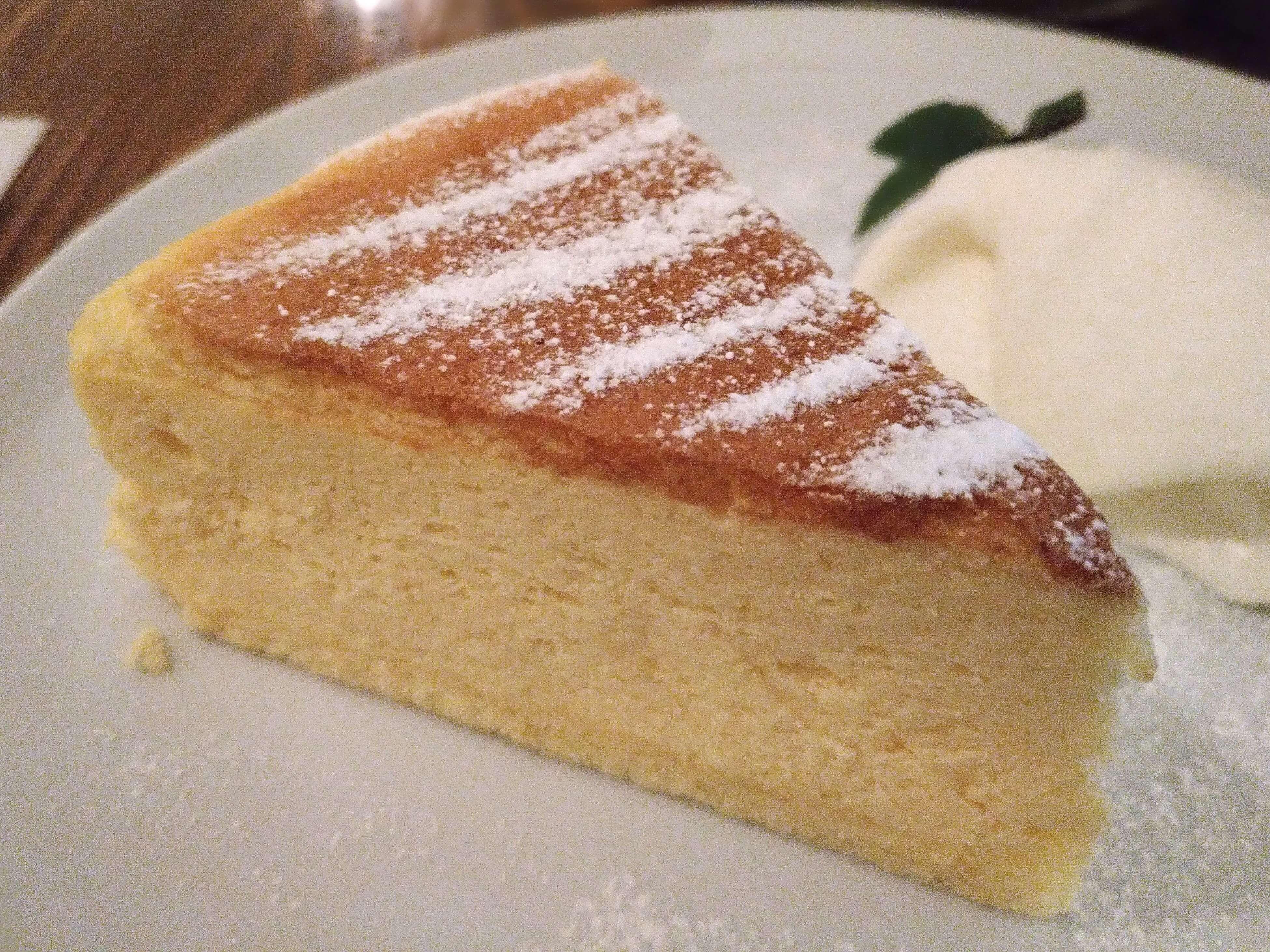珈琲三十間 銀座 チーズケーキ (3)