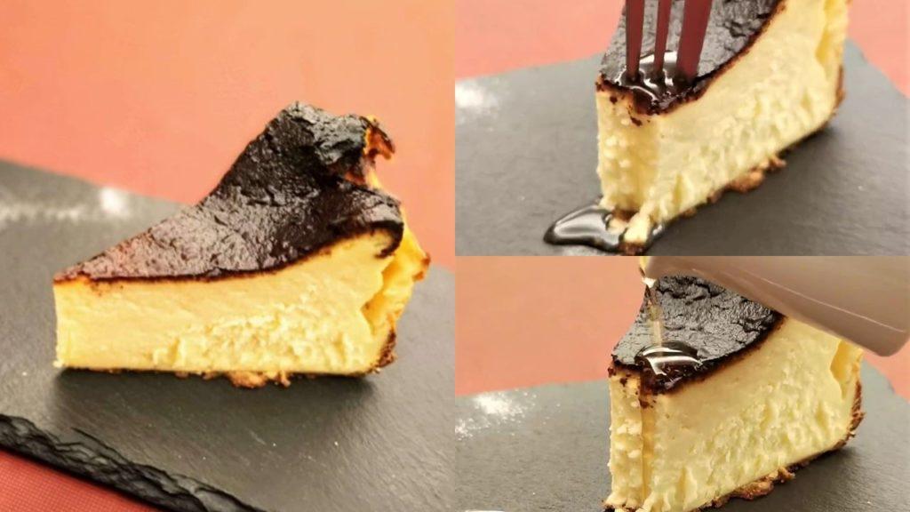 笄軒 バスクチーズケーキ
