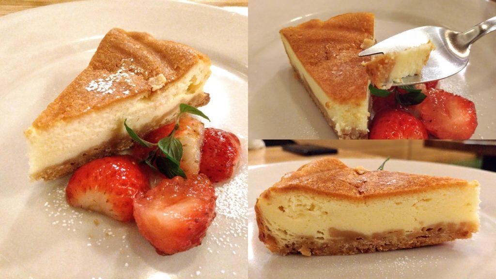 つばめグリル ベイクドチーズケーキ
