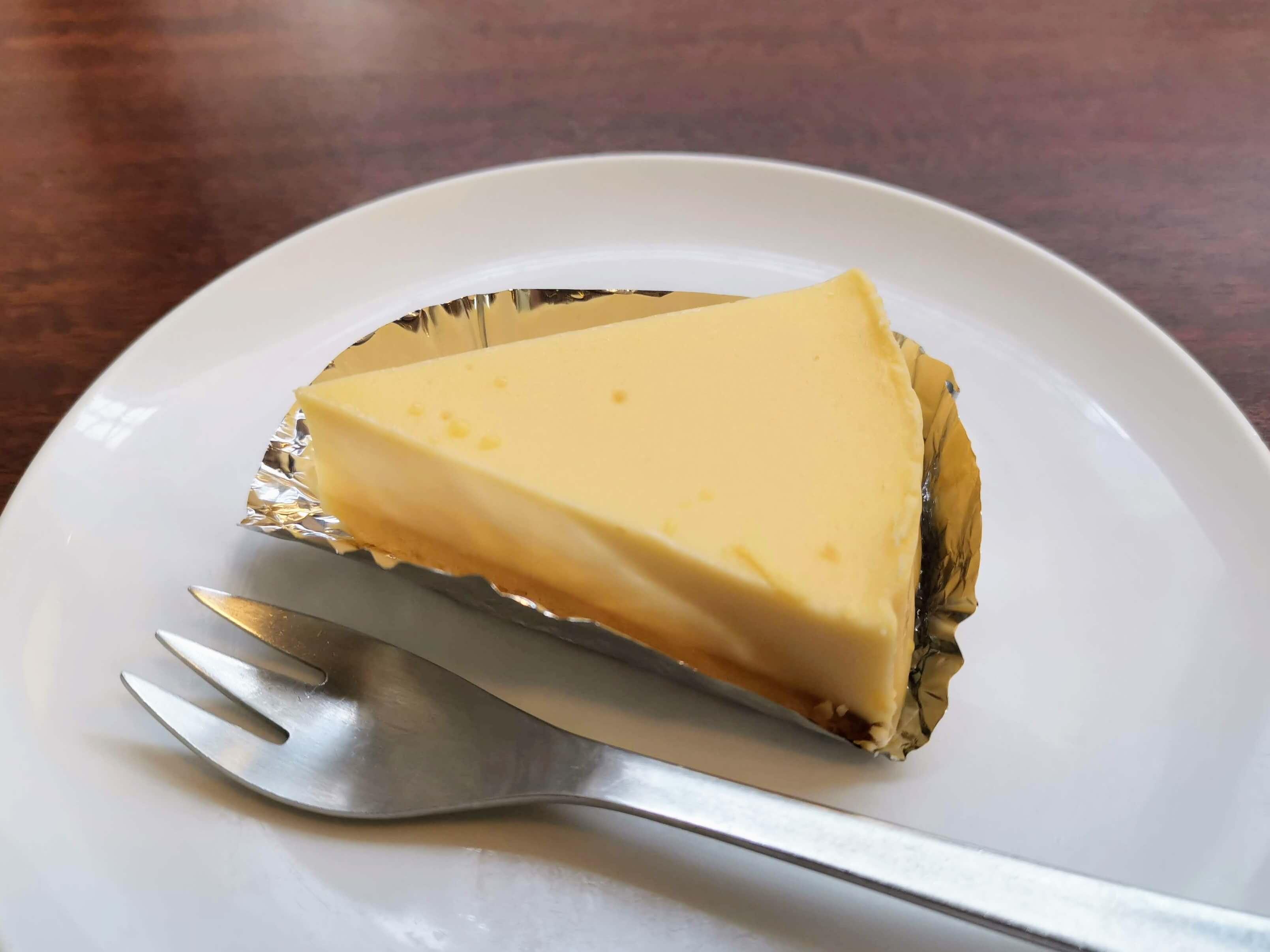 上島珈琲店 湯蒸チーズケーキ (4)