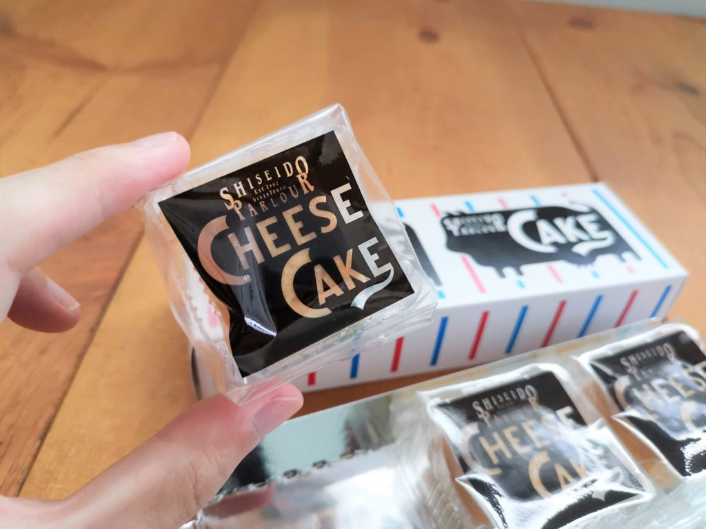 資生堂パーラー チーズケーキ (2)