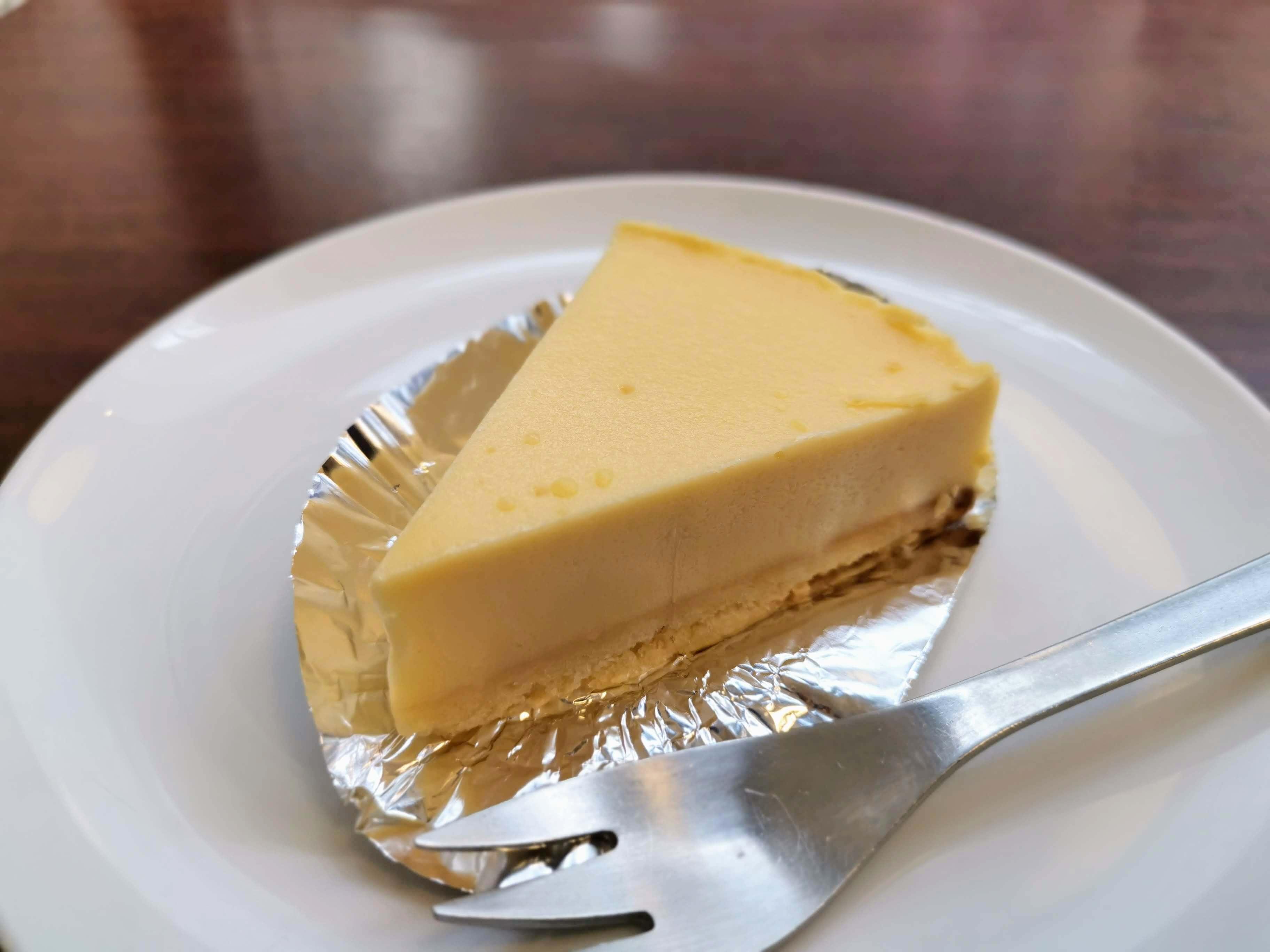 上島珈琲店 湯蒸チーズケーキ (10)