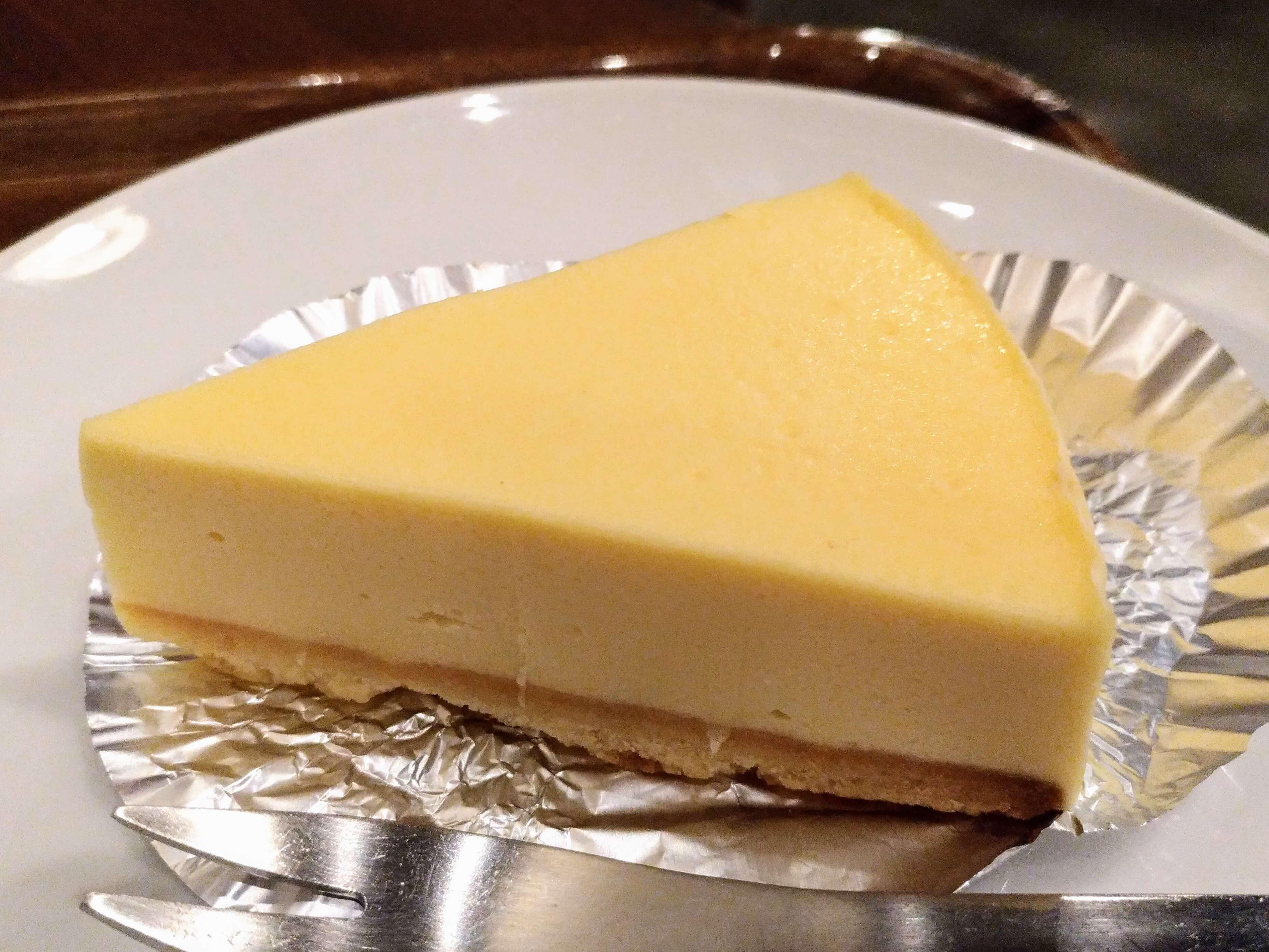 上島珈琲 湯蒸しのチーズケーキ