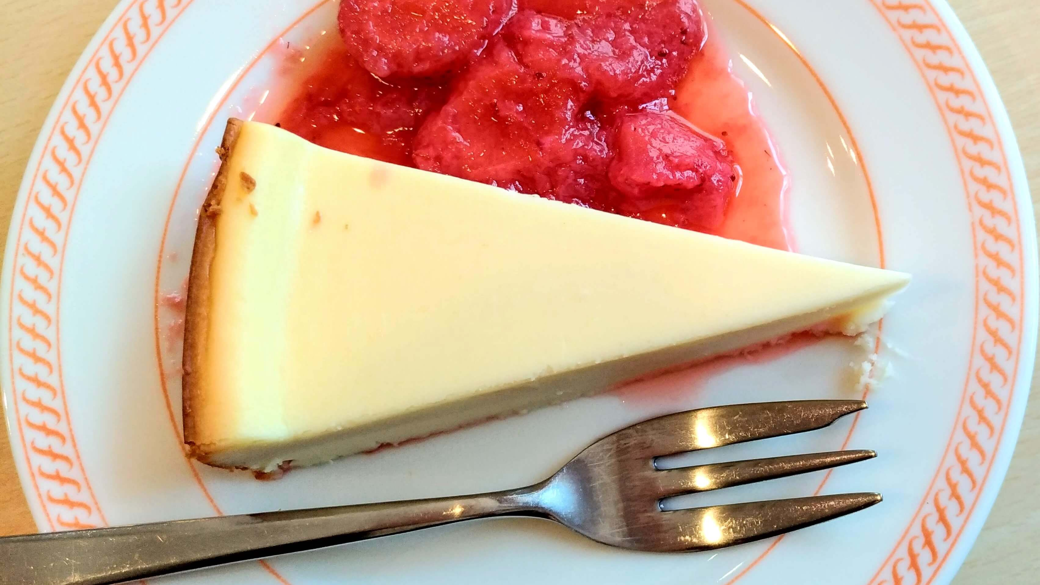 ジョイフル チーズケーキ (4)