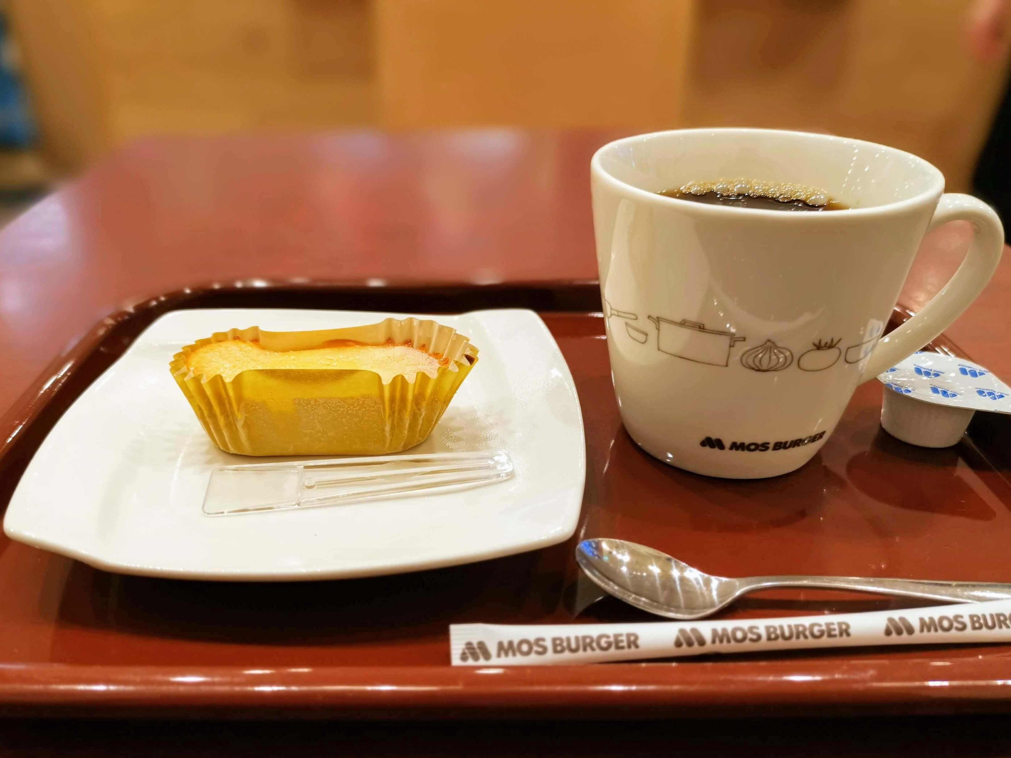 モスバーガー ひんやりドルチェ ベイクドチーズ (1)