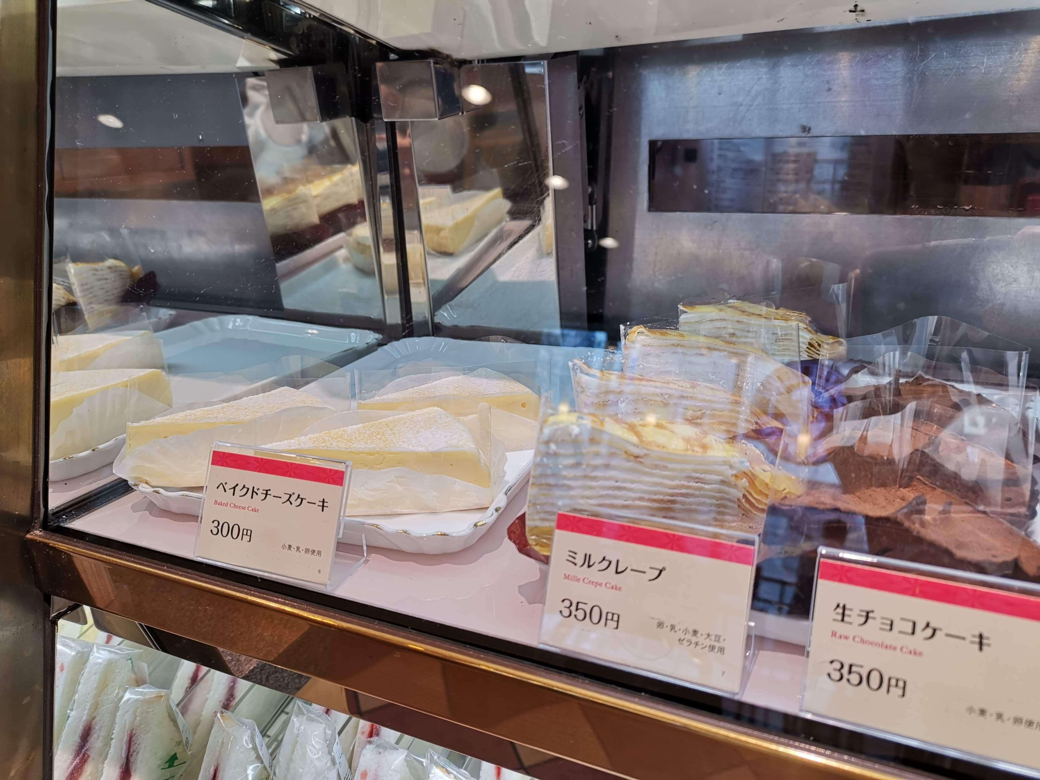 ベローチェ ベイクドチーズケーキ (1)
