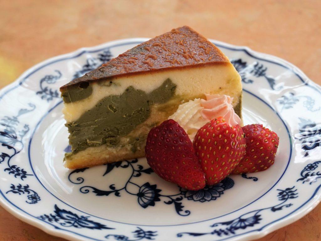 乃木坂 紙ひこうき 抹茶のチーズケーキ (5)