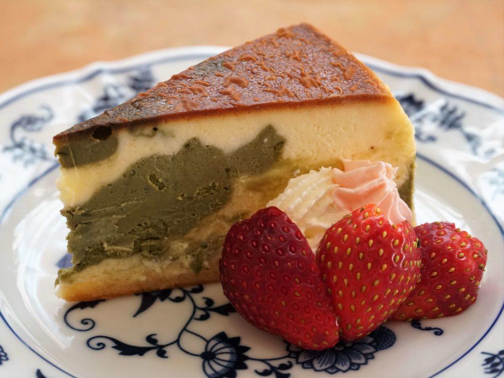 乃木坂 紙ひこうき 抹茶のチーズケーキ (4)