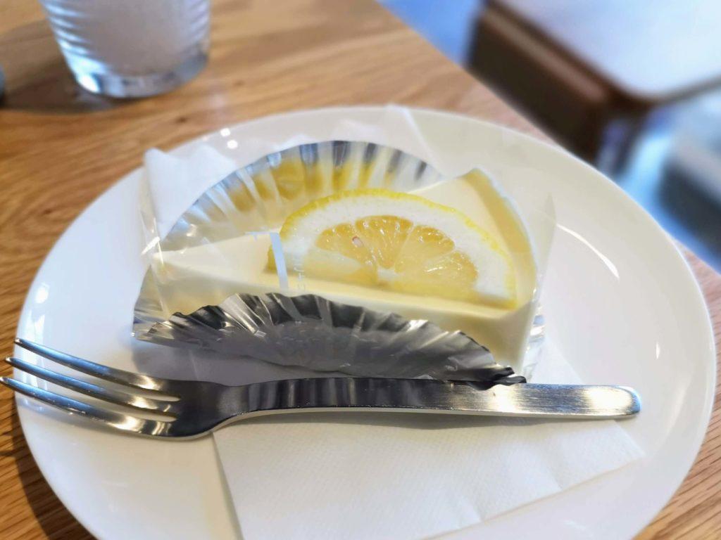 都立家政 シンプルシングスコーヒー レアチーズケーキ (2)