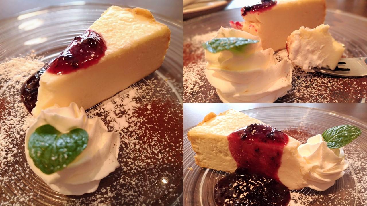 アースカフェ チーズケーキ