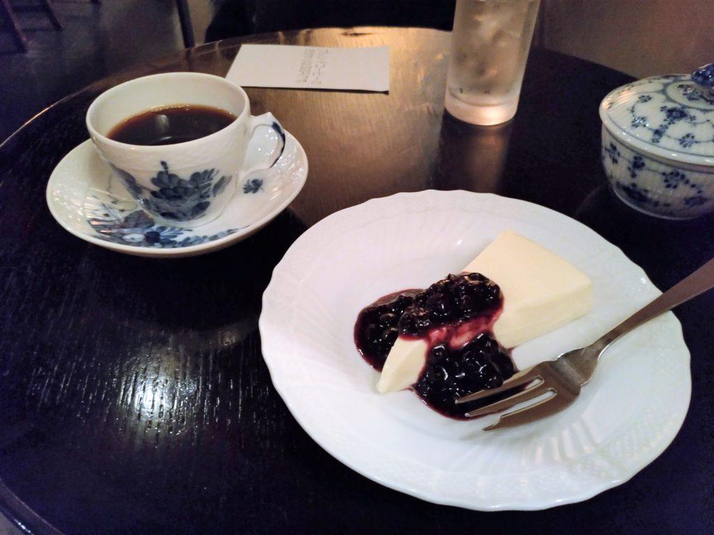 五反田 トゥジュール デビュテ レアチーズケーキ (3)