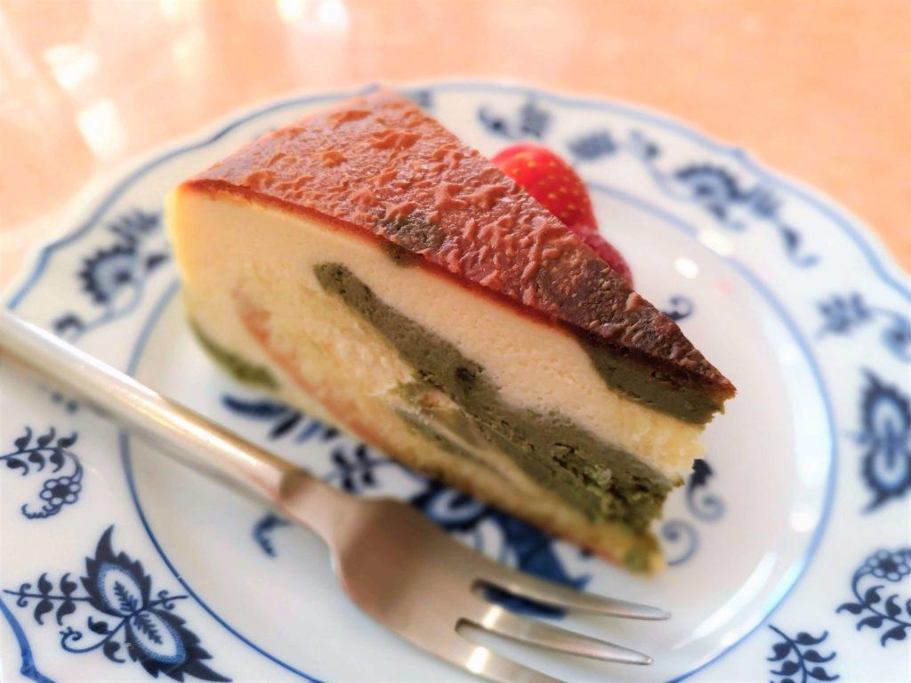 乃木坂 紙ひこうき 抹茶のチーズケーキ