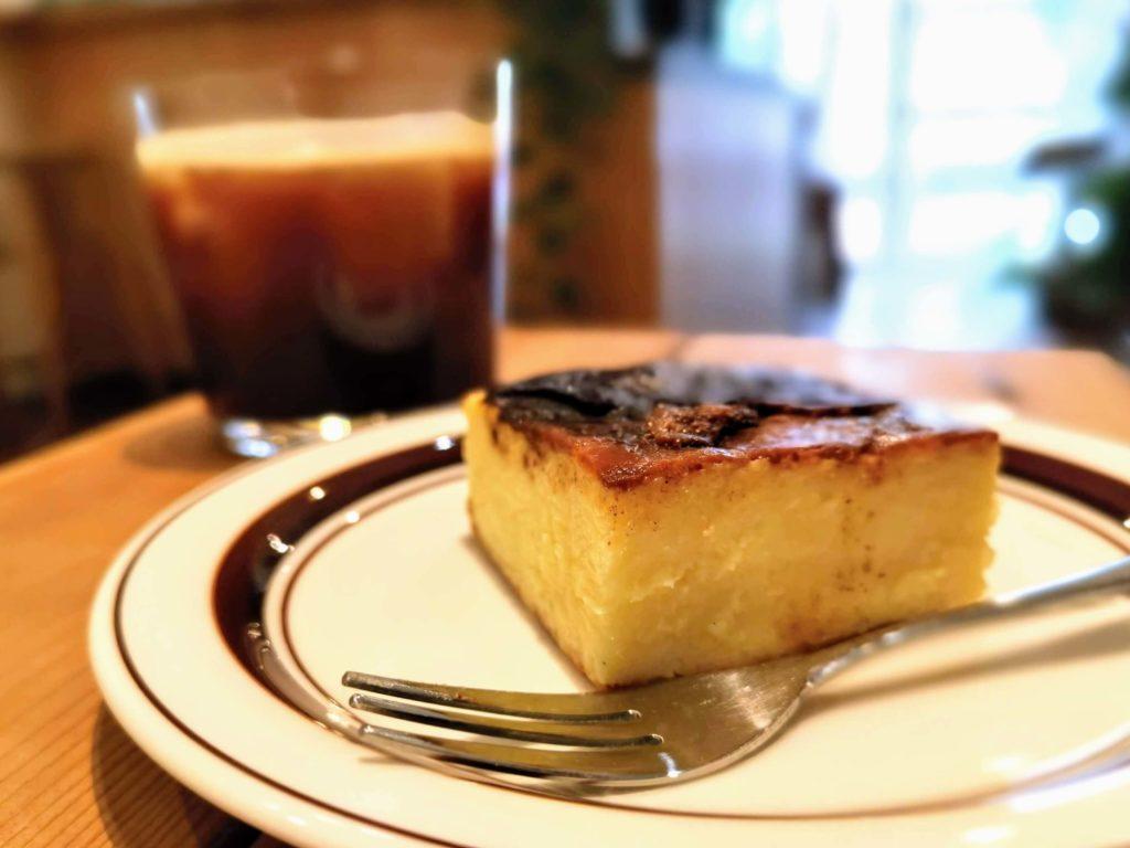 代官山 パーチ(perch) のバスクチーズケーキ