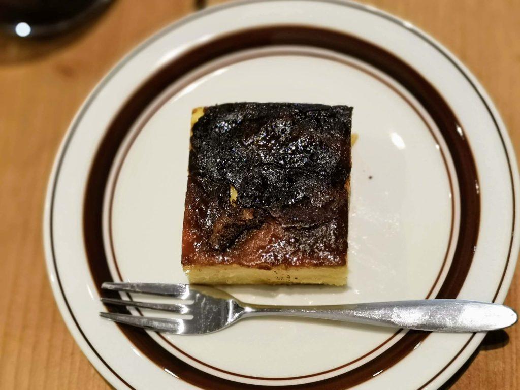 代官山 パーチコーヒー バスクチーズケーキ