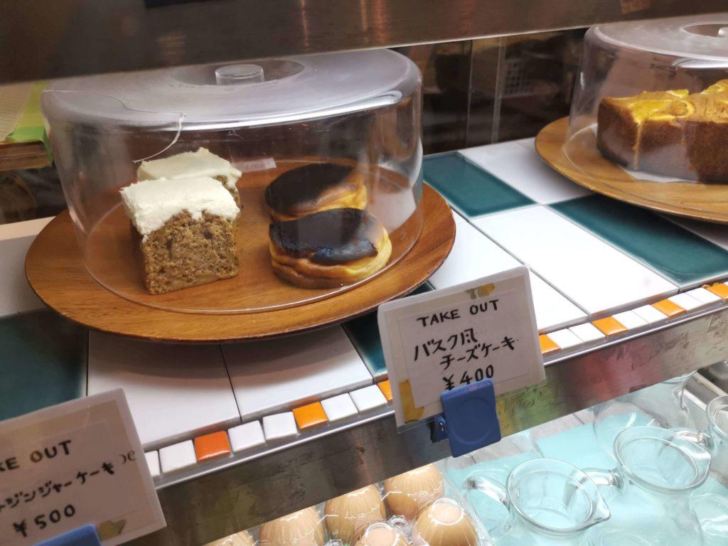 凸凹キッチン (8)バスクチーズケーキ