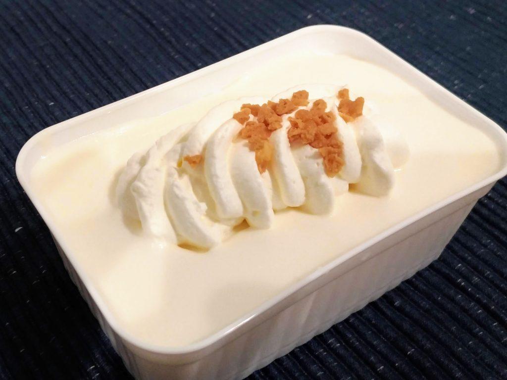 ファミリーマート ロピア とろけるレアチーズケーキ (4)