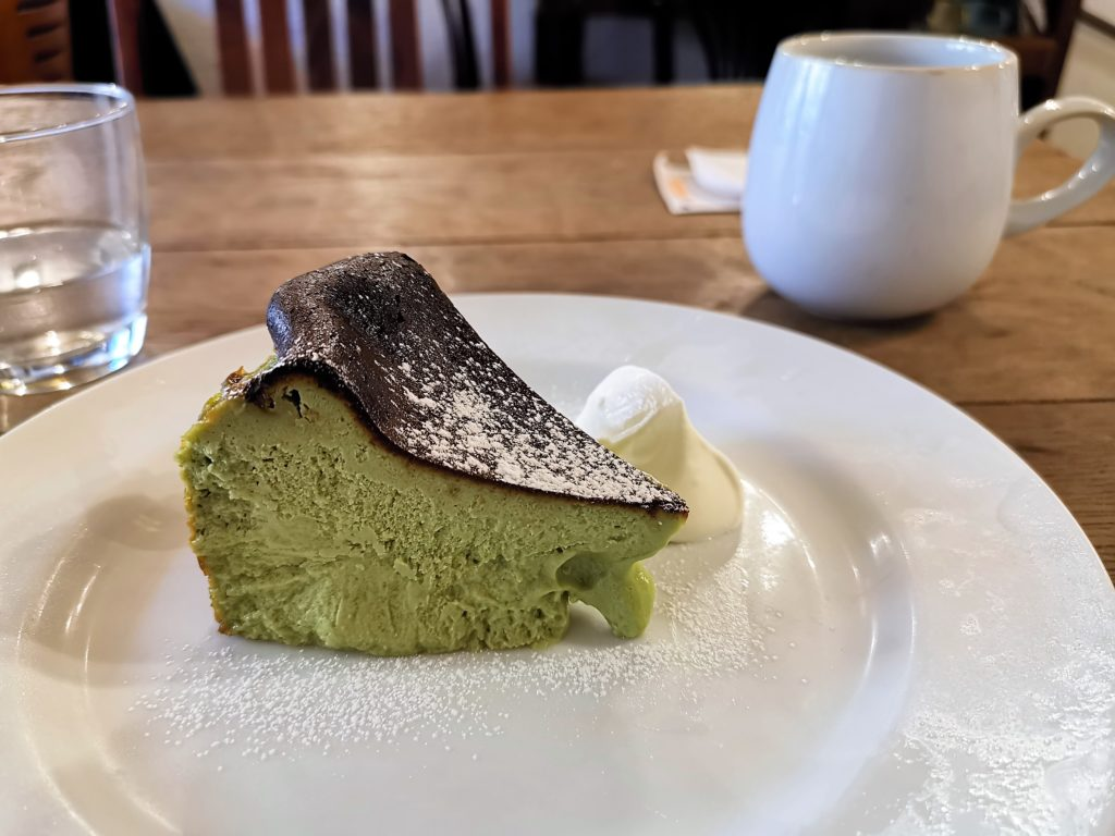 cocoful(ココフル) 抹茶バスクチーズケーキ (3)