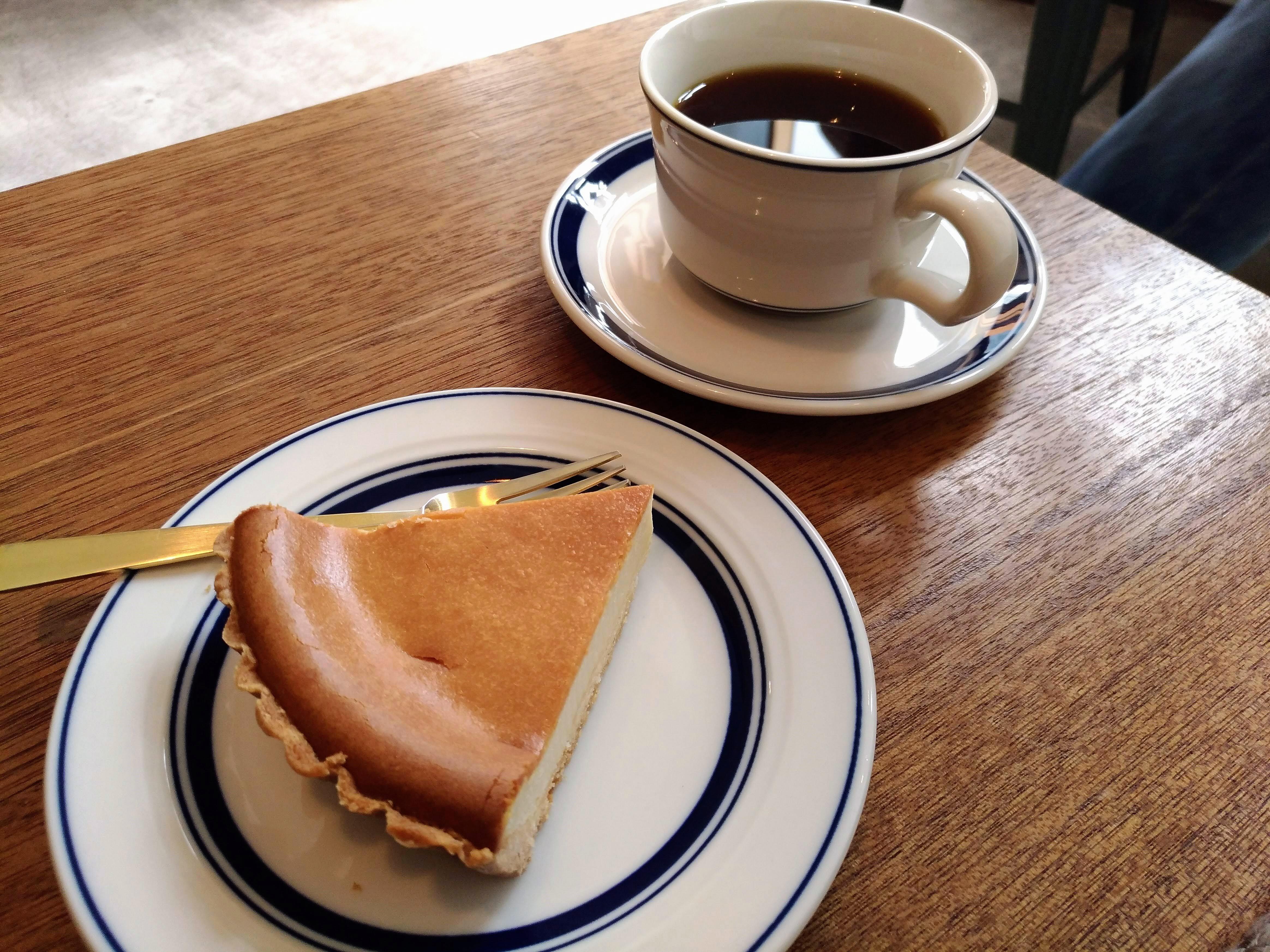 大森 パーチコーヒー(PERCH COFFEE) チーズケーキ