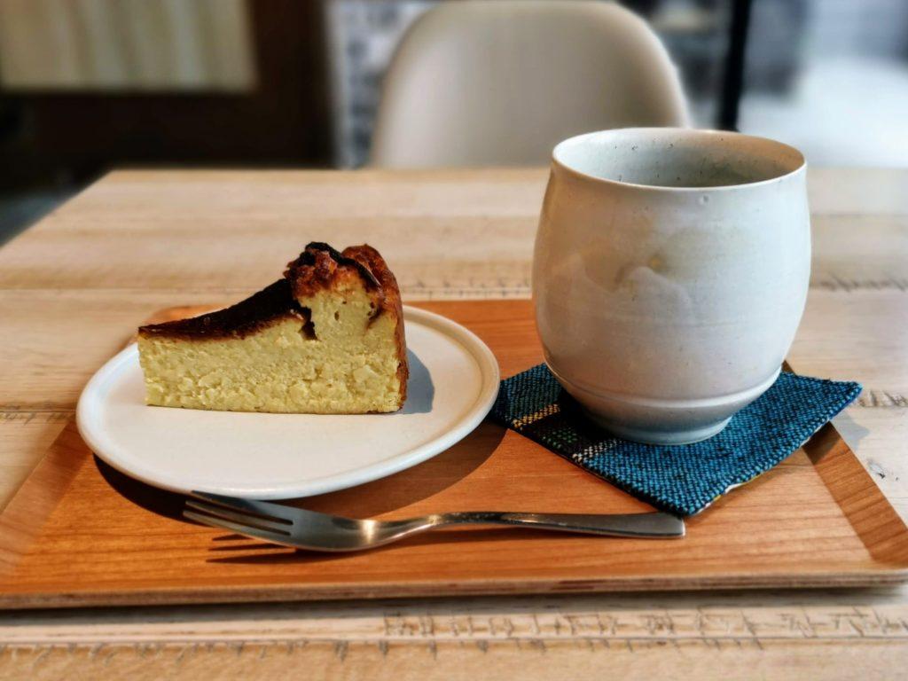 私立珈琲小学校 (24)バスクチーズケーキ