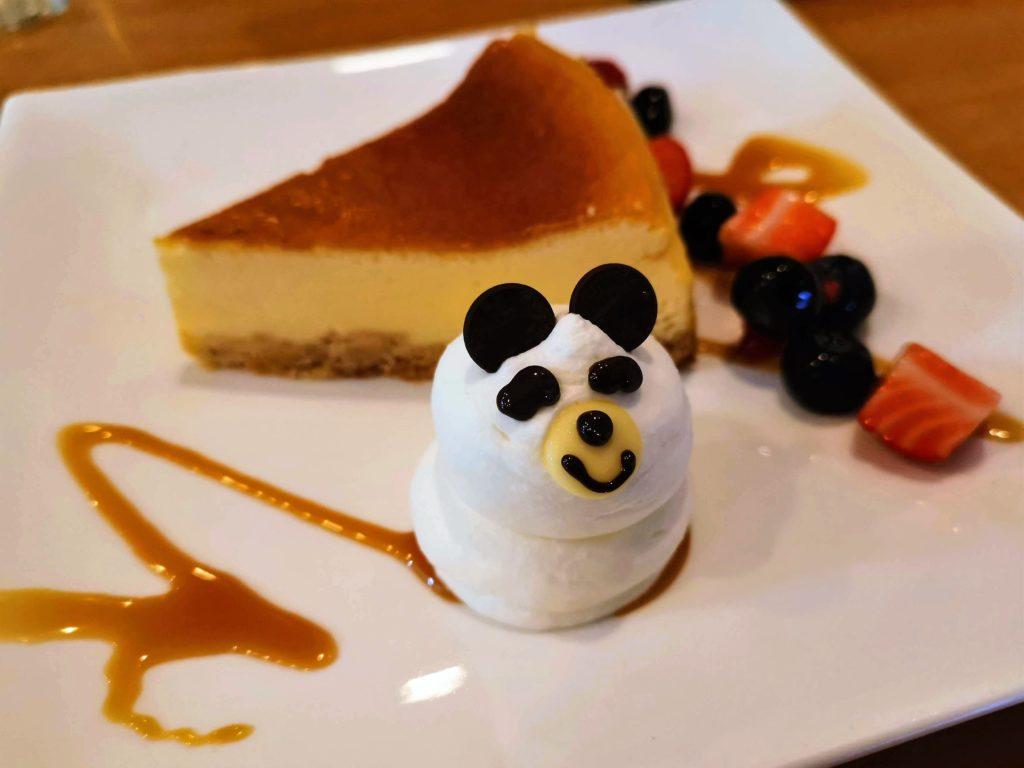 高円寺 ブラックマウンテン チーズケーキ