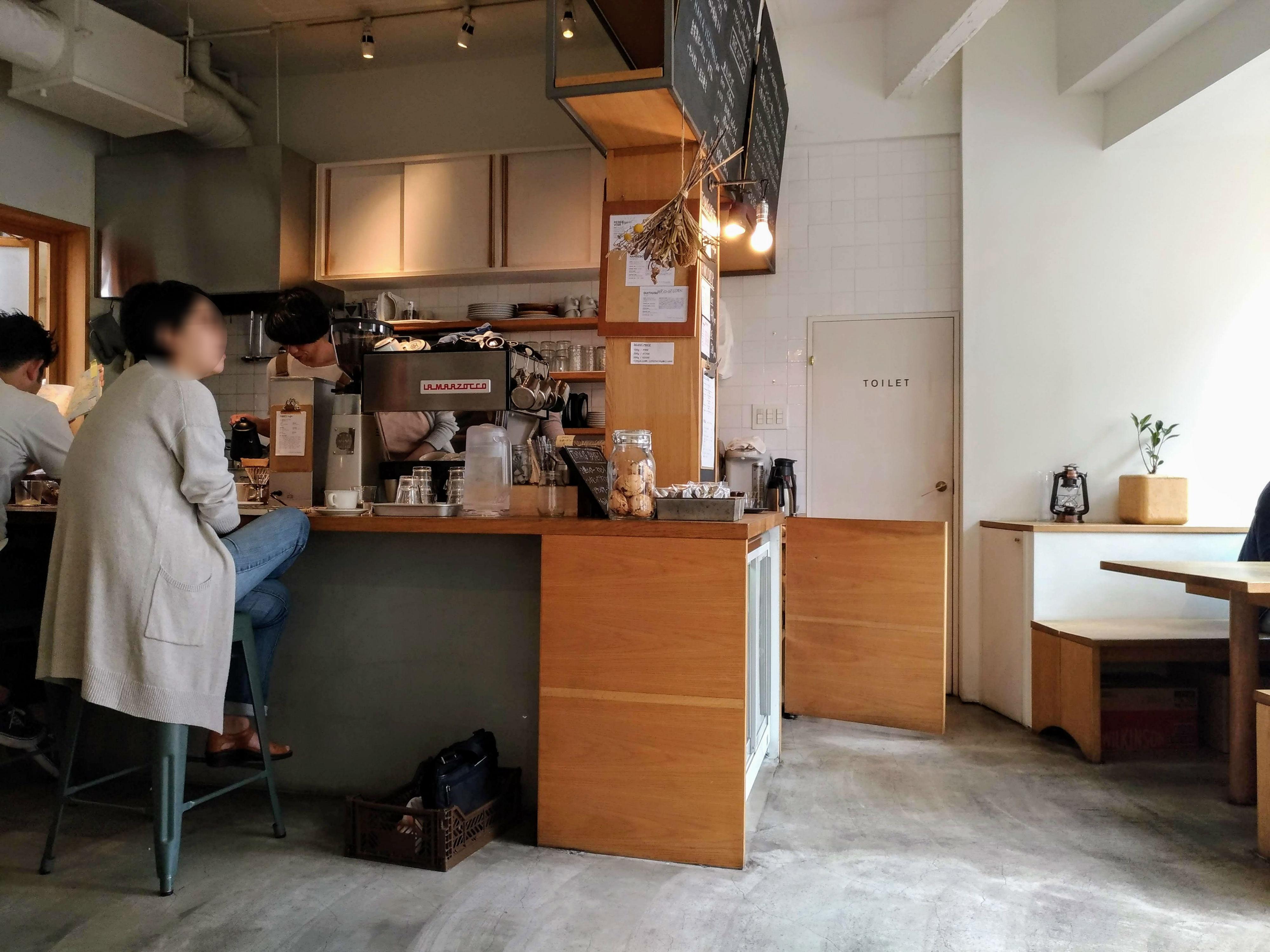 大森 パーチコーヒー(PERCH COFFEE) 店内