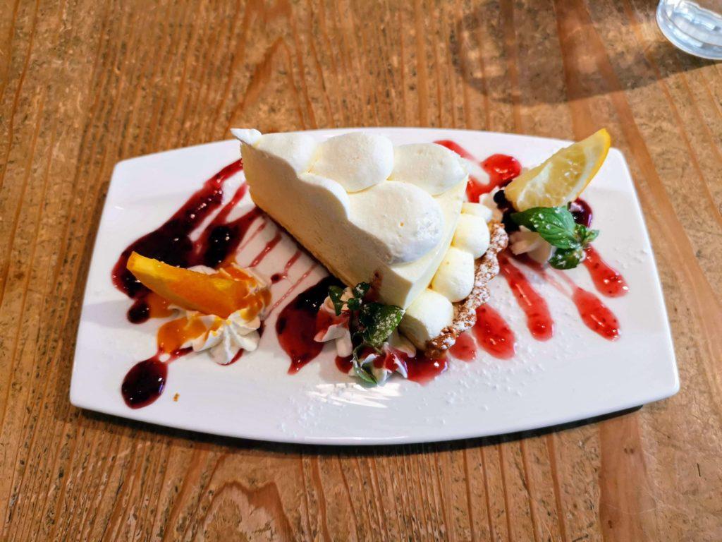 自由が丘 パームスカフェ ダブルチーズケーキ
