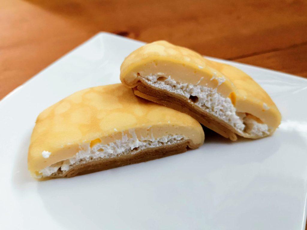 セブンイレブン・デリカシェフ もっちりクレープ ダブルレアチーズクリーム (4)