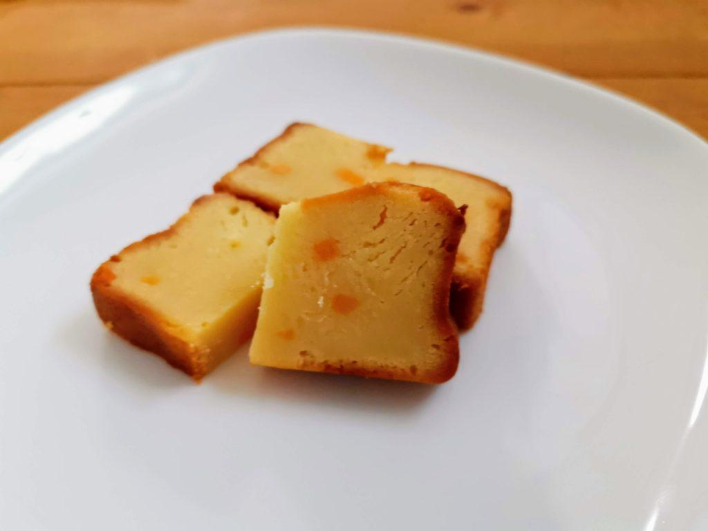 ローソン コスモフーズ ベイクドチーズケーキ(つぶころチーズ入り) (8)