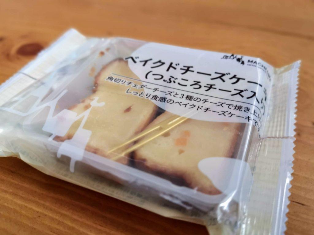 ローソン コスモフーズ ベイクドチーズケーキ(つぶころチーズ入り) (3)