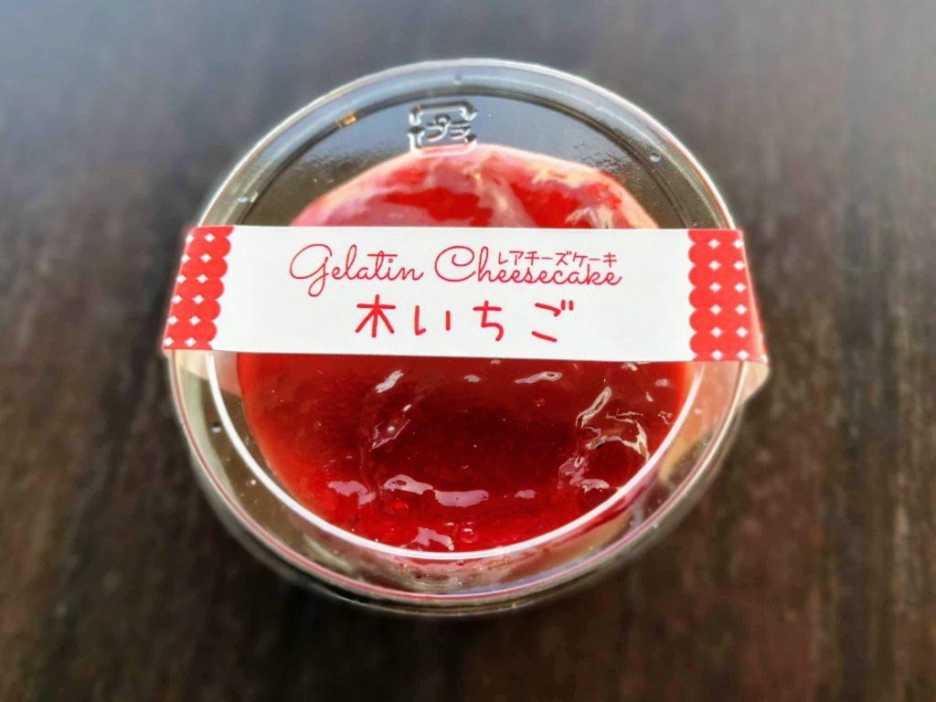 一厘 レアチーズケーキ 木苺