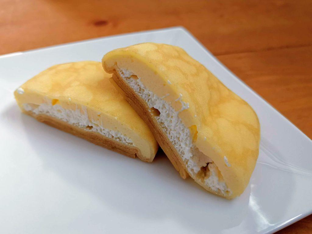 セブンイレブン・デリカシェフ もっちりクレープ ダブルレアチーズクリーム (5)