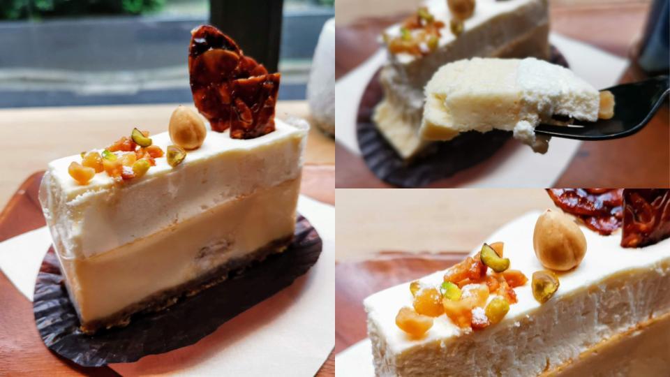 ディゾン 神保町 カマンベールマスカルポーネ 2層のチーズケーキ