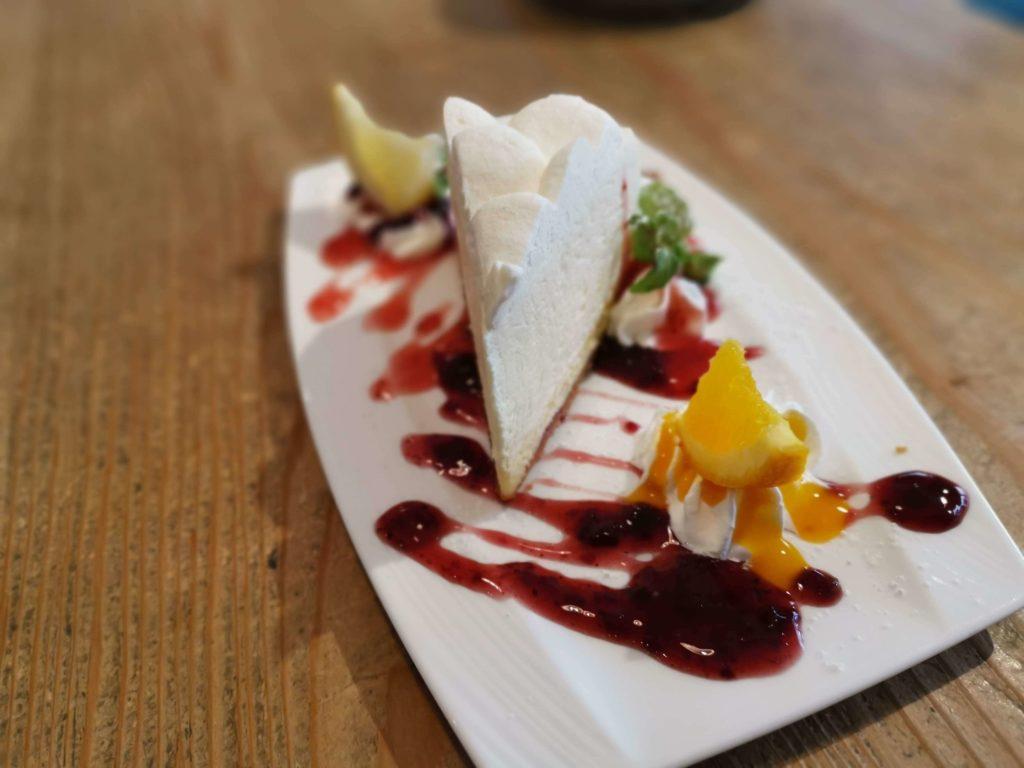 自由が丘 パームスカフェ ダブルチーズケーキ (12)