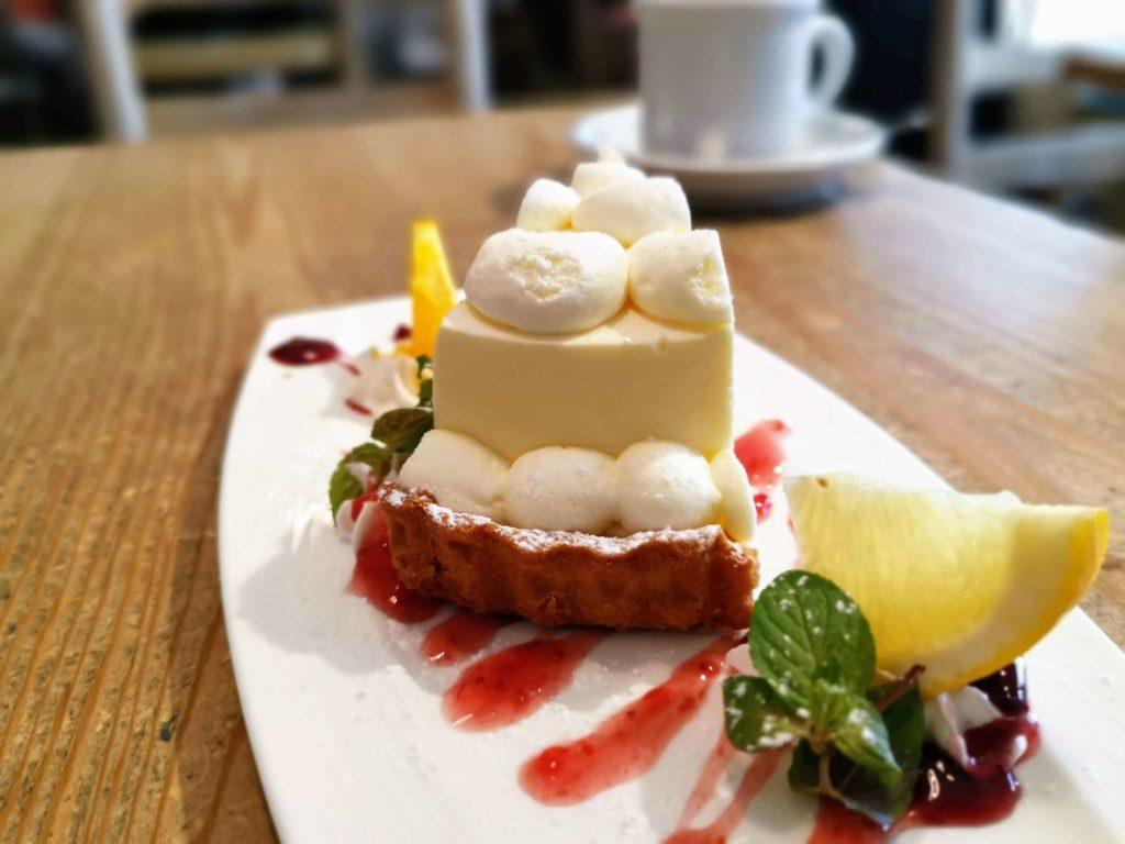 自由が丘 パームスカフェ ダブルチーズケーキ (15)