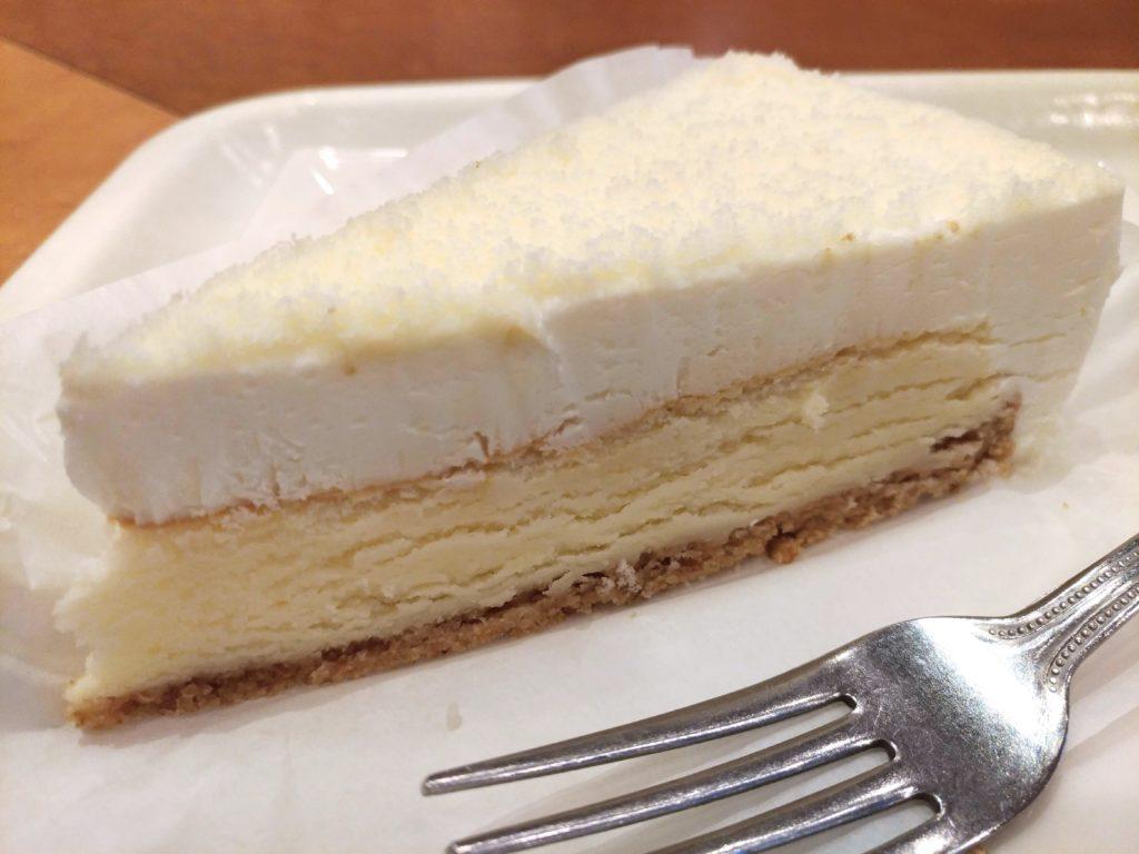 【新橋珈琲店】北海道2層のチーズケーキ