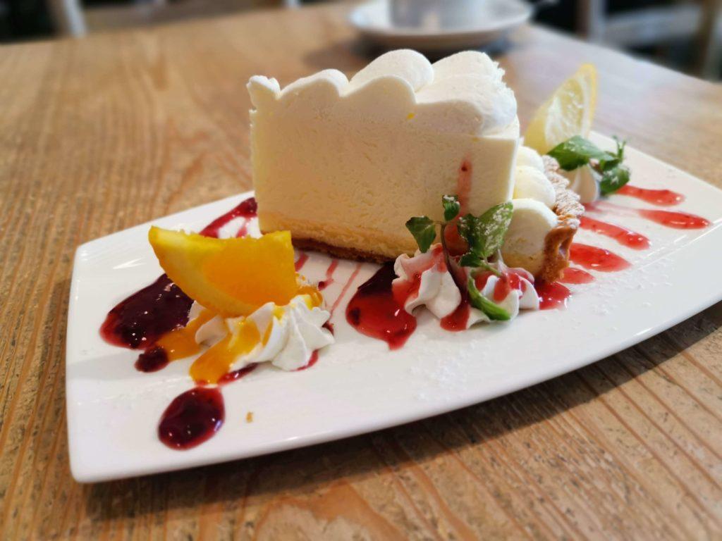 自由が丘 パームスカフェ ダブルチーズケーキ (10)
