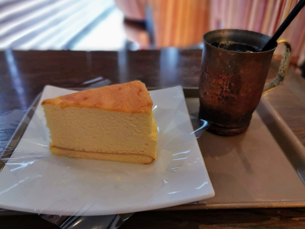 カフェスペリオーレ 中野サンプラザ店 チーズケーキ (5)
