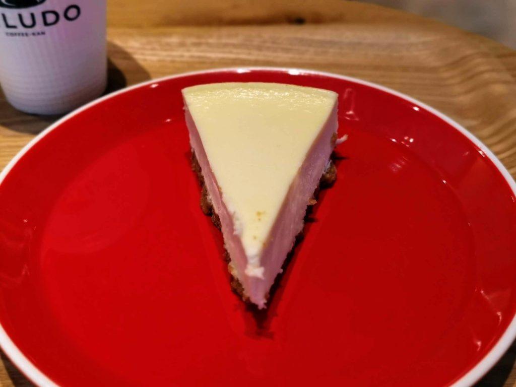 渋谷 VELUDO 珈琲館 ニューヨークチーズケーキ