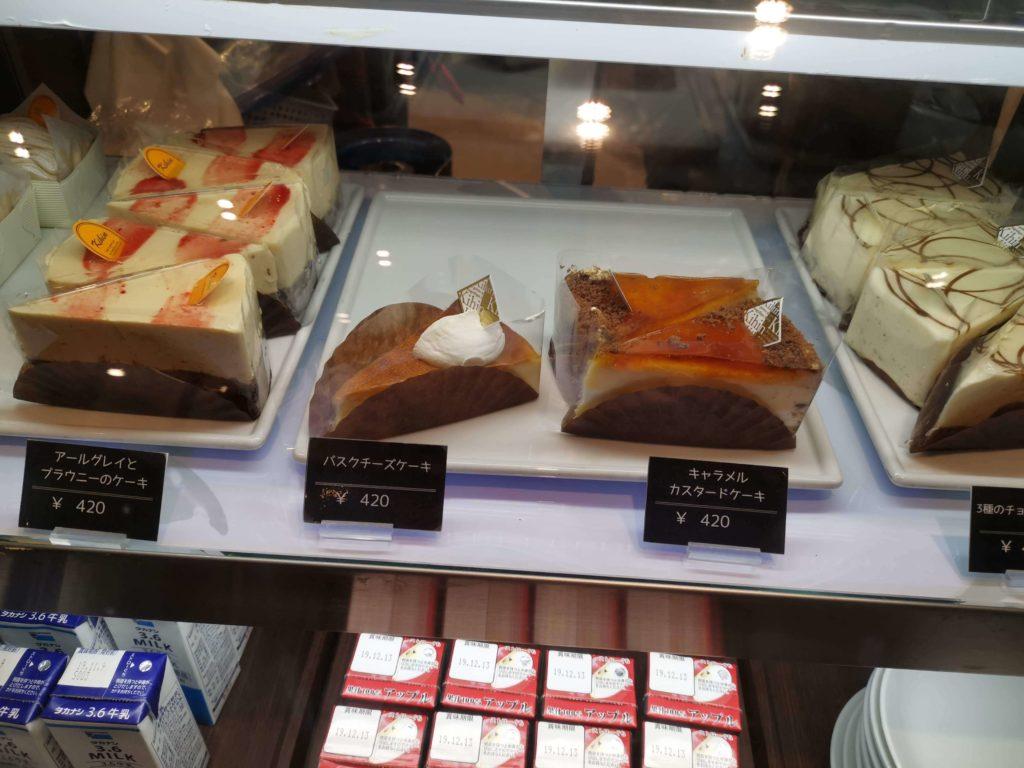 カフェカルディーノ バスクチーズケーキ (2)