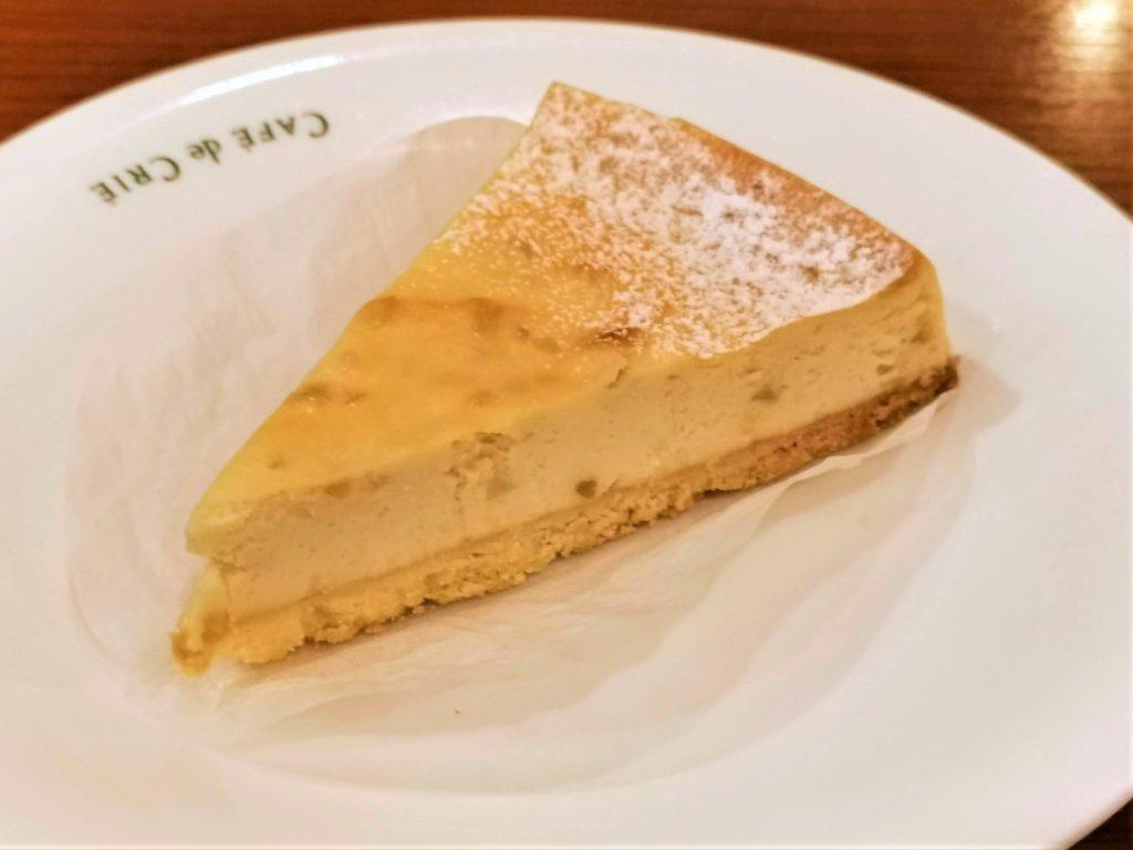 カフェ・ド・クリエ メイプルナッツベイクドチーズケーキ (6)