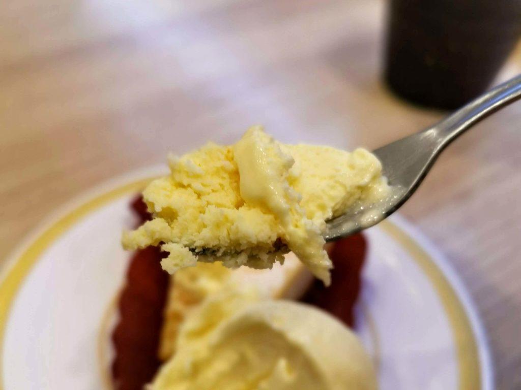 【かっぱ寿司】のリッチなベイクドチーズケーキ とアイスクリーム