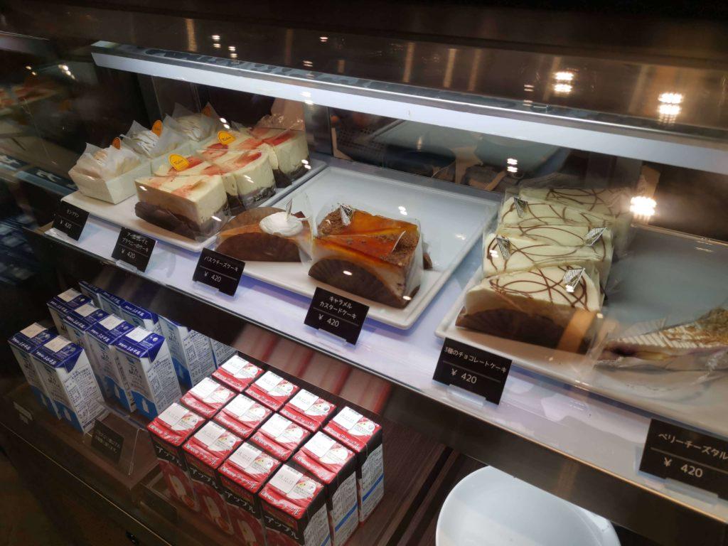 カフェカルディーノ バスクチーズケーキ (3)