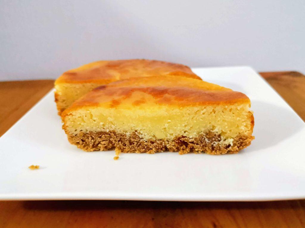 【ファミリーマート・敷島製パン】コク深い味わい・ベイクドチーズタルト (11)