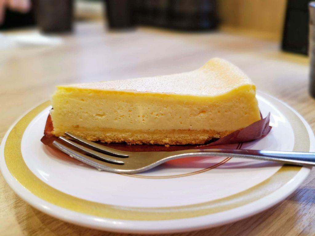 【かっぱ寿司】のリッチなベイクドチーズケーキ