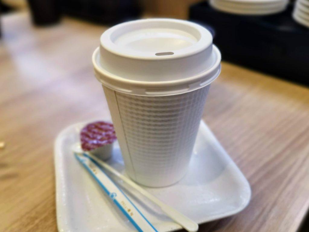 かっぱ寿司 ホットコーヒー