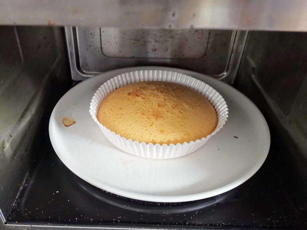 無印良品 自分でつくるベイクドチーズケーキ (11)
